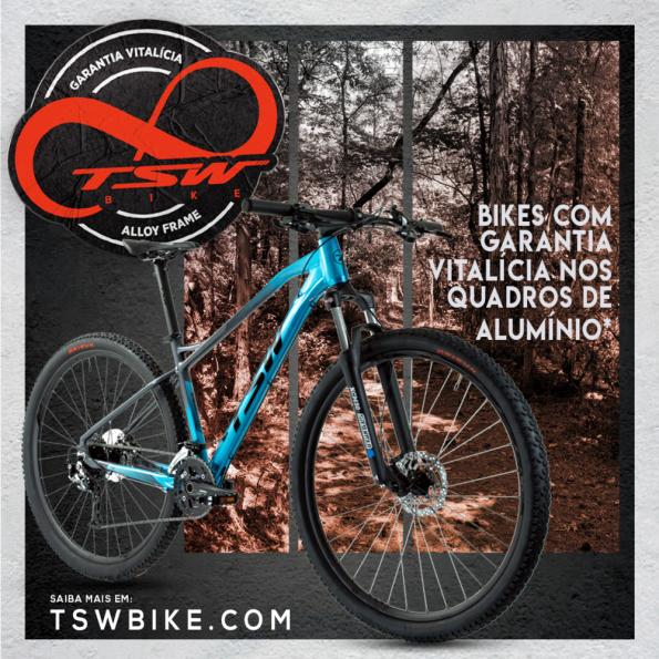 TSW Bike oferece Garantia Vitalícia para quadros de alumínio 1