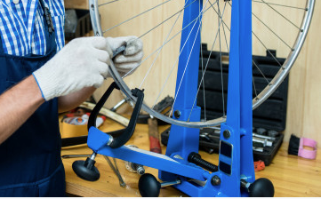 Como desempenar as rodas e o câmbio da bike 5