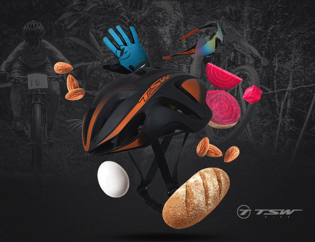 Alimentos para treino | pedal | TSW