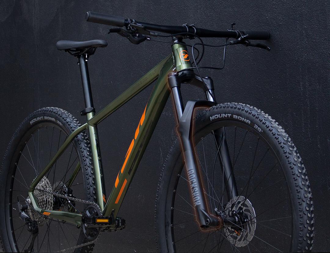 Suspensão dianteira - Bike - TSW